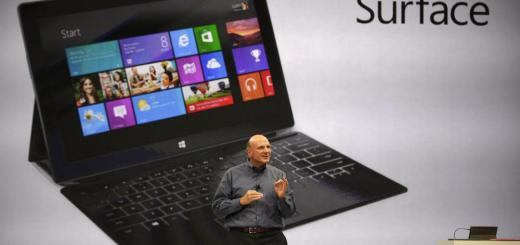 Steve Ballmer introduces Microsoft Surface Tab in Los Angeles