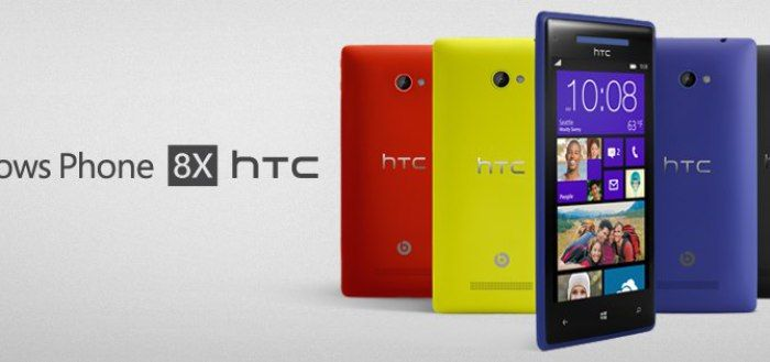 The New and Very Vibrant HTC 8X