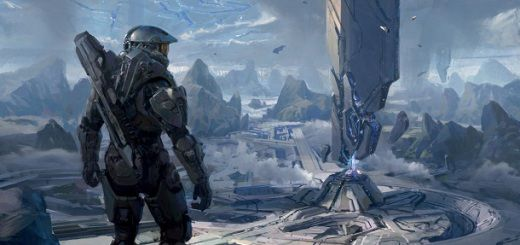 Halo 4 Art Book Cover Awakening