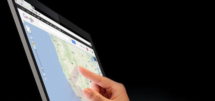 Chromebook Pixel touchscreen Google Maps
