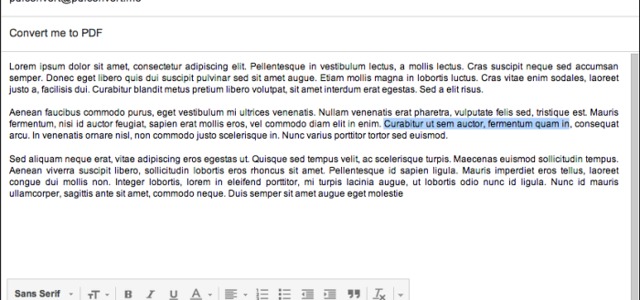 How to Convert Email, Attachments and Web Pages to PDF